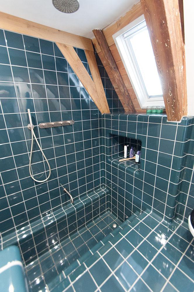 badkamer hoekprofiel tegel