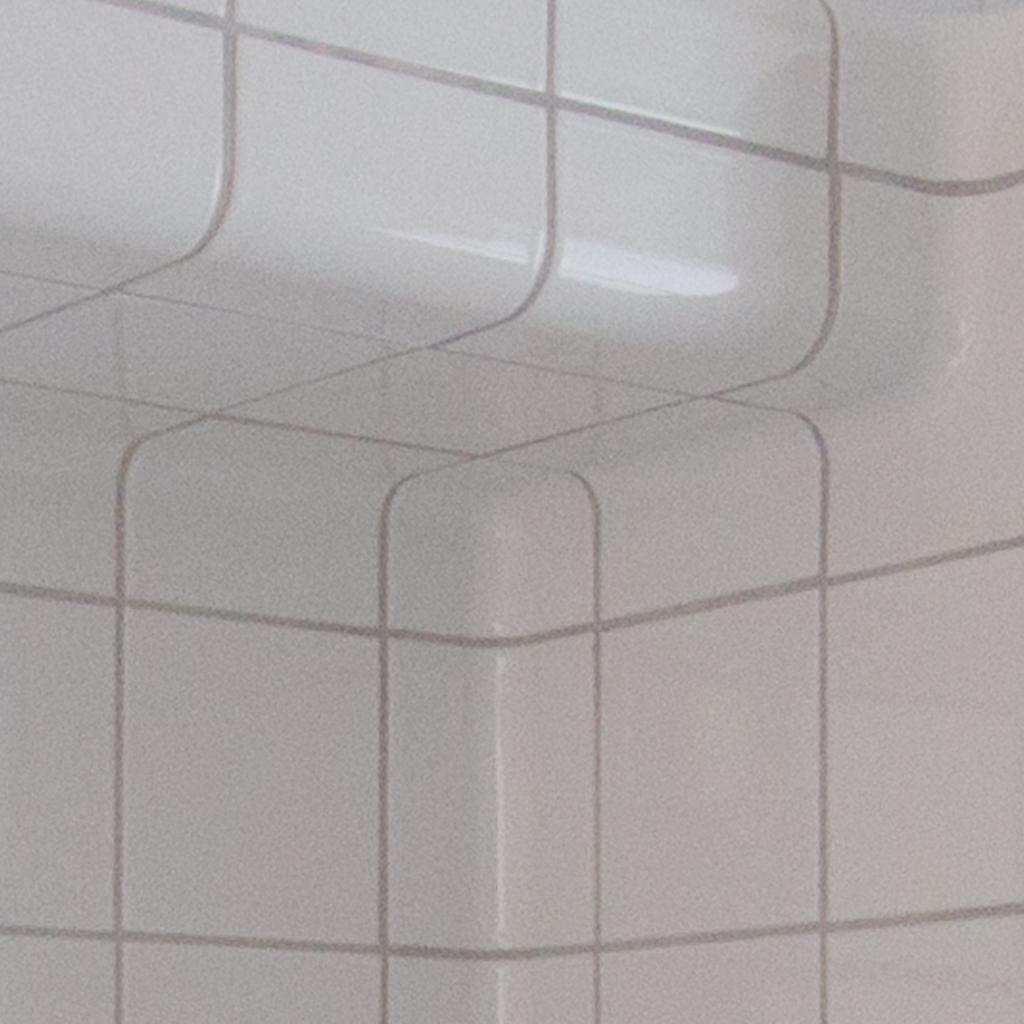 tegel hoek  binnendop badkamer