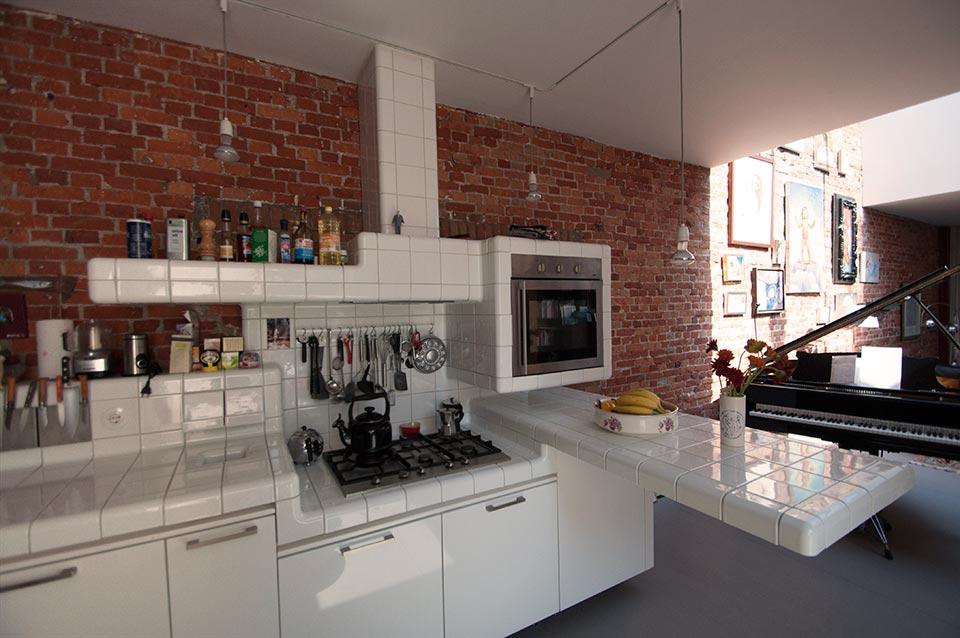 design keuken afvoertegel roostertegel