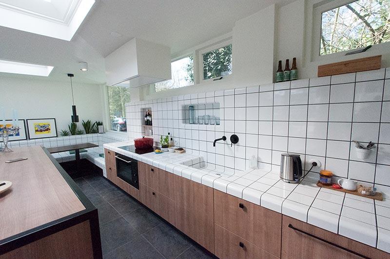 keukendesign met 3d tegels