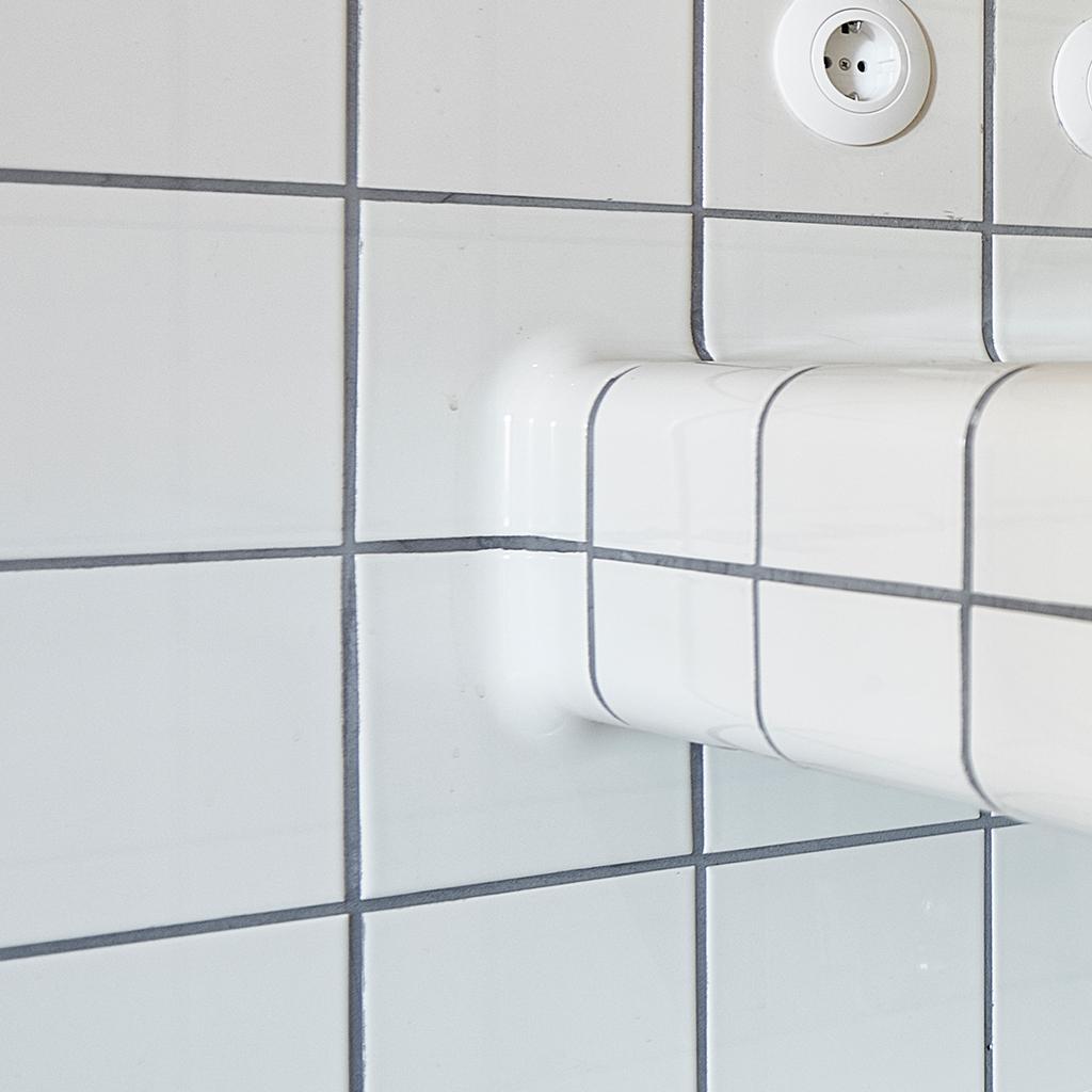 Buitenzadel tegel, driedimensionale tegel voor gebruik in horeca, keuken of badkamer