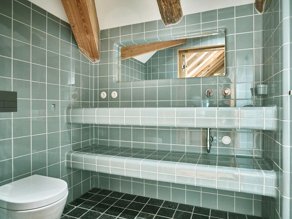 DTILE badkamer tegels groen