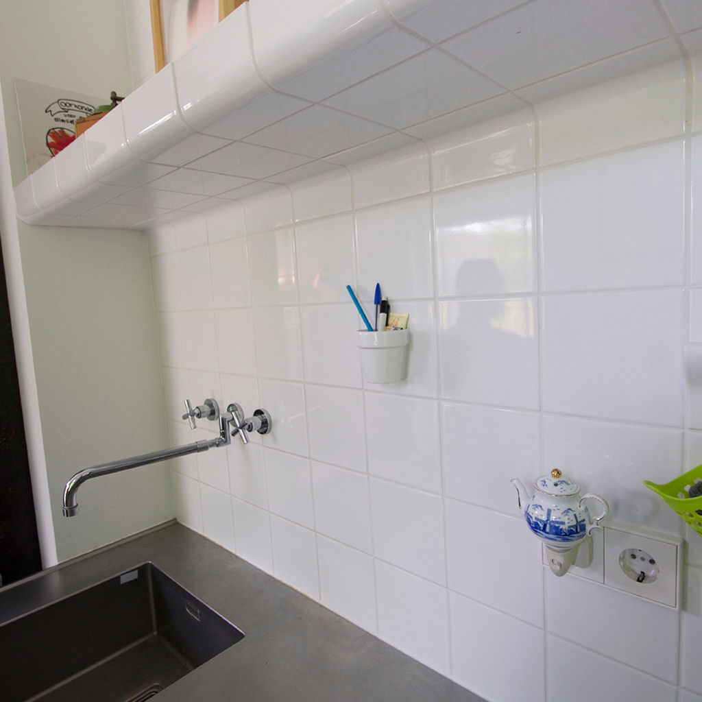 keuken moderne tegels