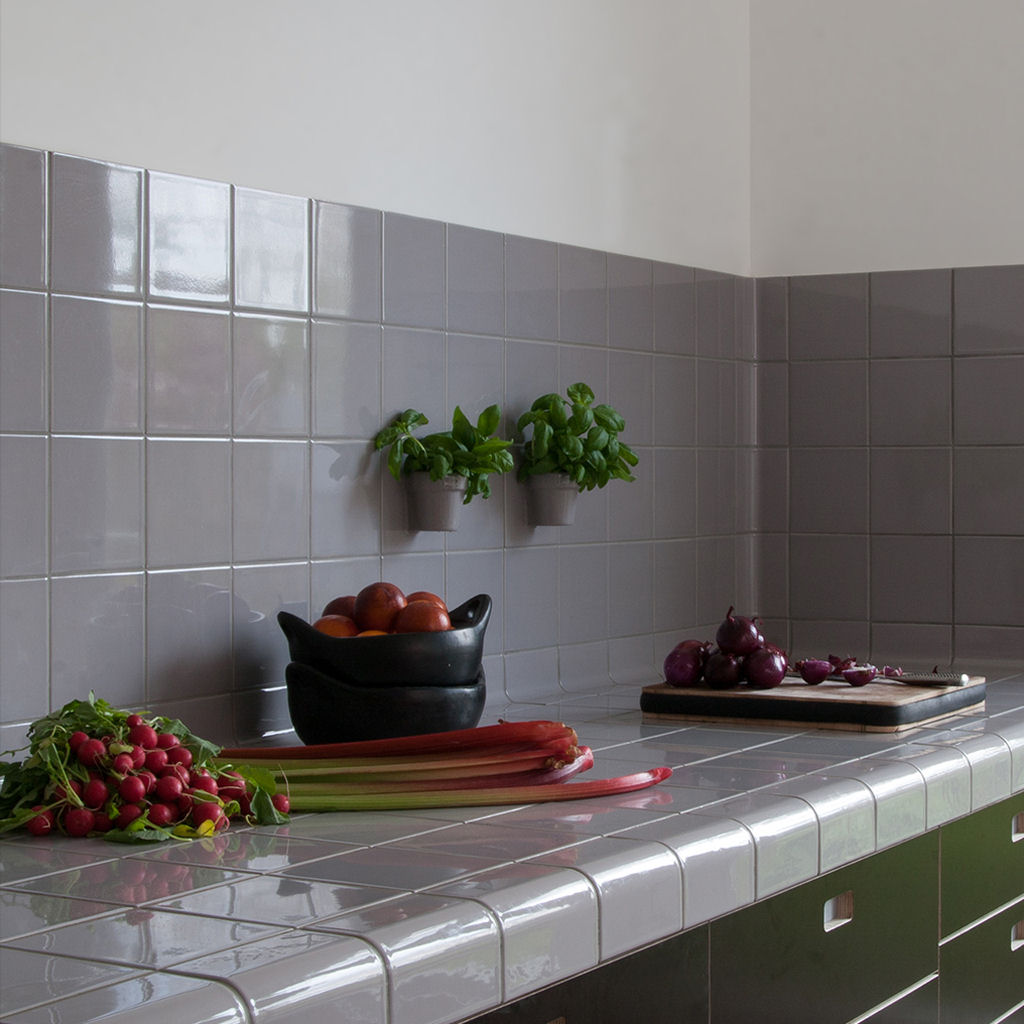 keuken in de kleur duif grijs