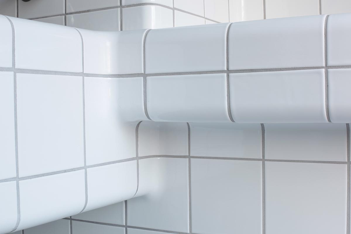 driedimensionale tegels buffet, moderne constructie en functietegels in diverse kleuren