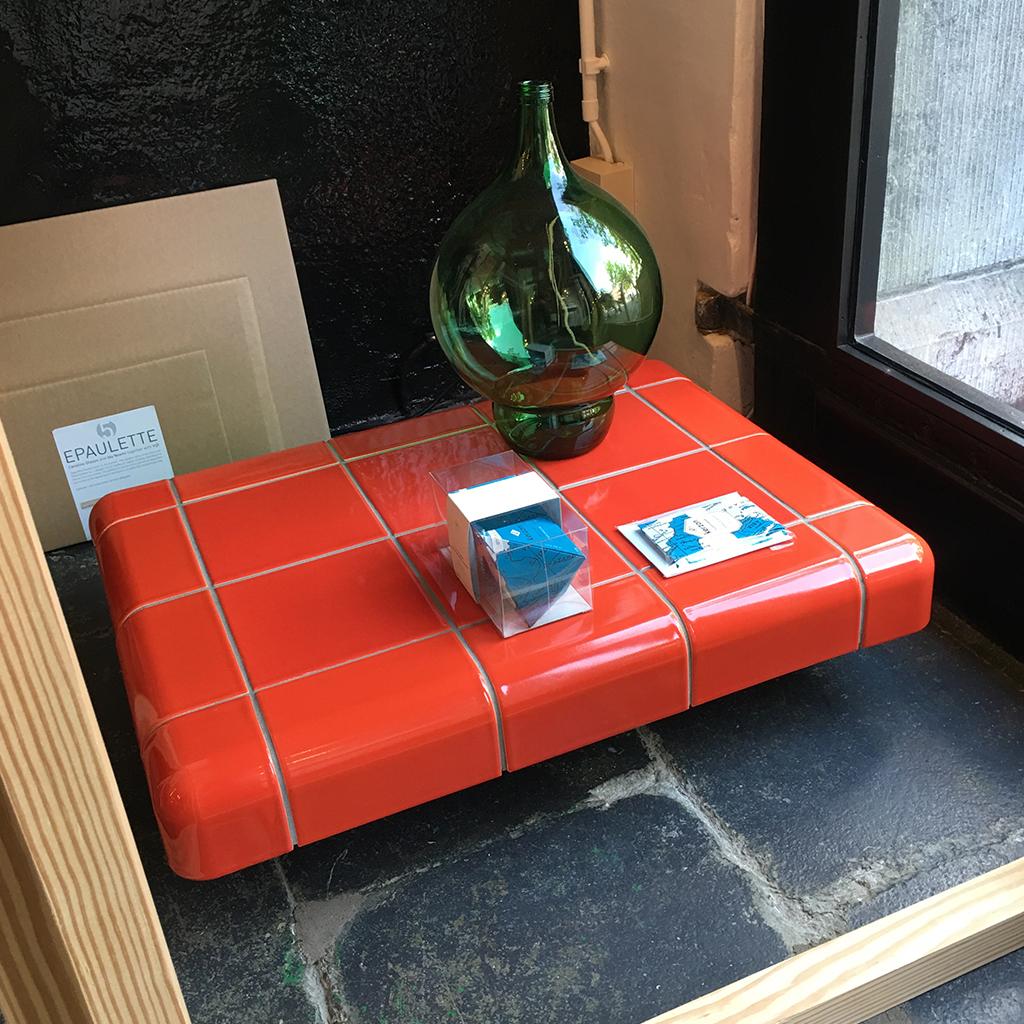 Betegel objecten met driedimensionale tegels